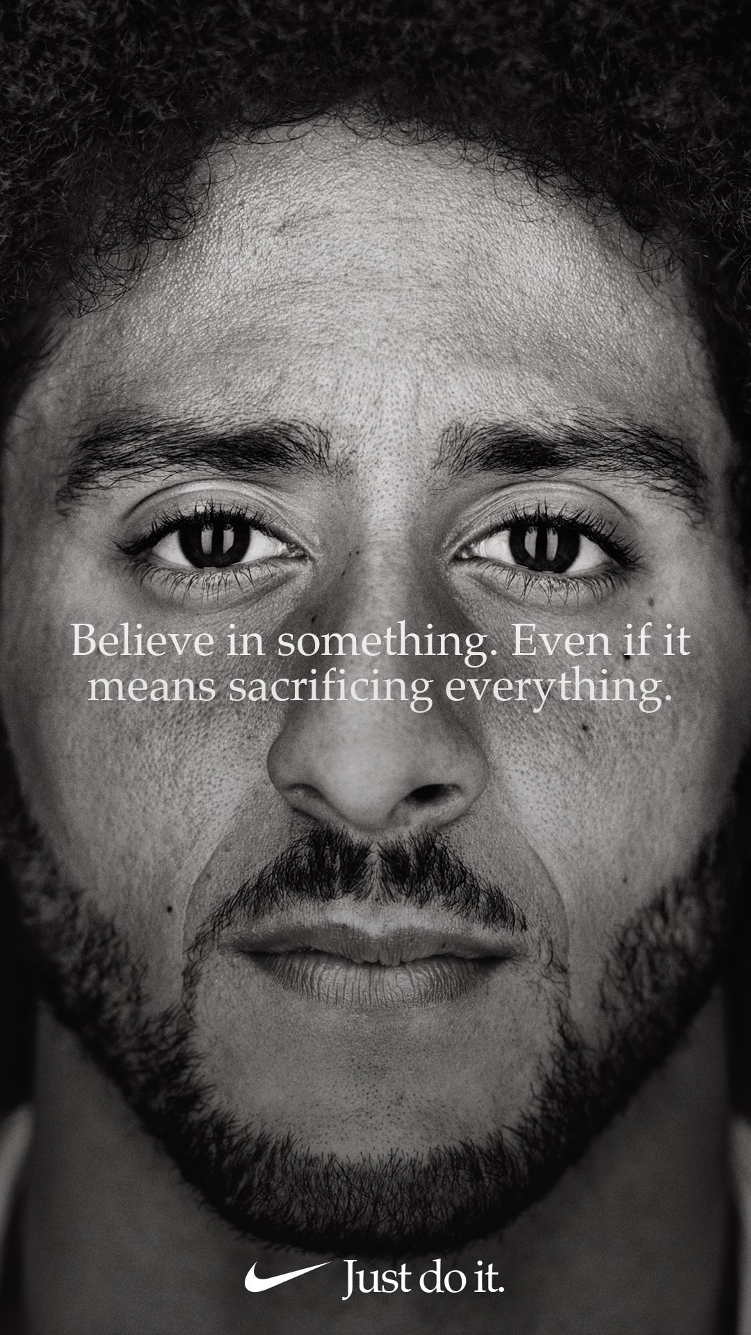 "Nike ad campaign: 30 years of slogan ""Just do it"", #IStandWithKap"